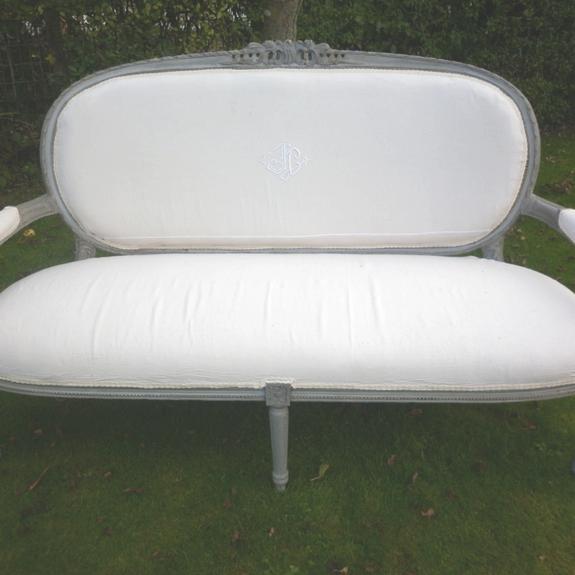 Antique Vintage French Sofa