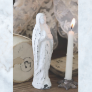 Jeanne d'Arc Living Madonna White Patina
