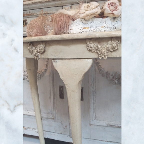 Antique Vintage French Console Table