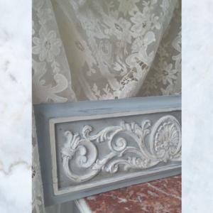 Antique Vintage French Pair of Pediments Decorative Panels