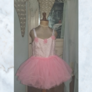 Vintage Antique Tutu Ballet Dress