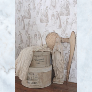 Jeanne d'Arc Living Toile Wallpaper