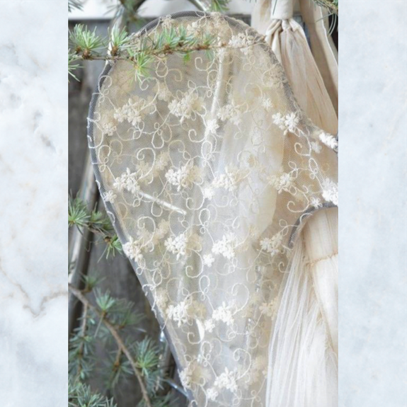 Jeanne d'Arc Living tulle 80 cm angel wings