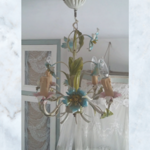 French toleware chandelier