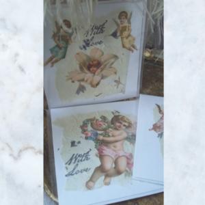 Decoupage handmade cards