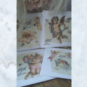 Decoupage handmade cards