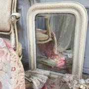 Antique French louis mirror