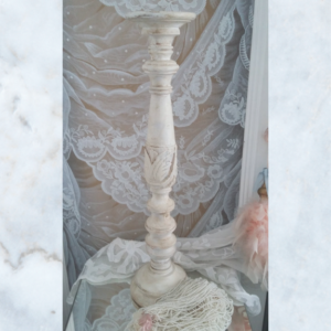 French vintage candlestick