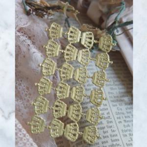 JDL gold crown decoration
