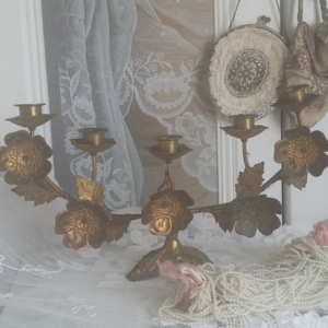 Antique french candelabra