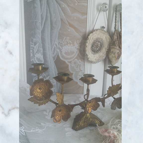 Antique french candelabra