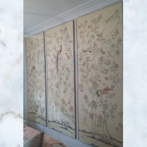 Do Gourney Chinoiserie Panels  C2 B7 De Gournay Chinoiserie Panels