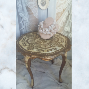 Vintage florentine gilt wood table
