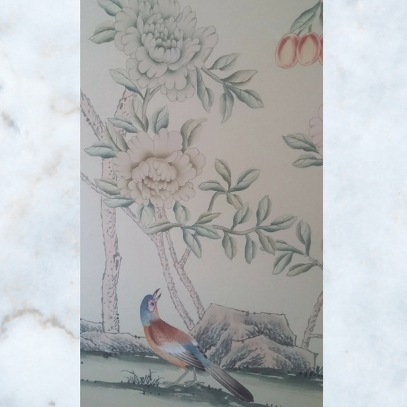 de Gournay chinoiserie panels