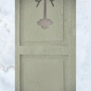 Jeanne d'Arc living moss green shutters