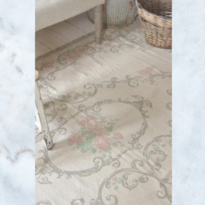 Jeanne d'Arc Living rose grey rug