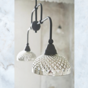 JDL mercury glass lamp