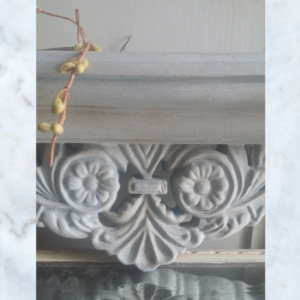 French shelf pediment