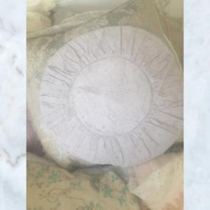 Jeanne d'Arc Living lace beige cushion