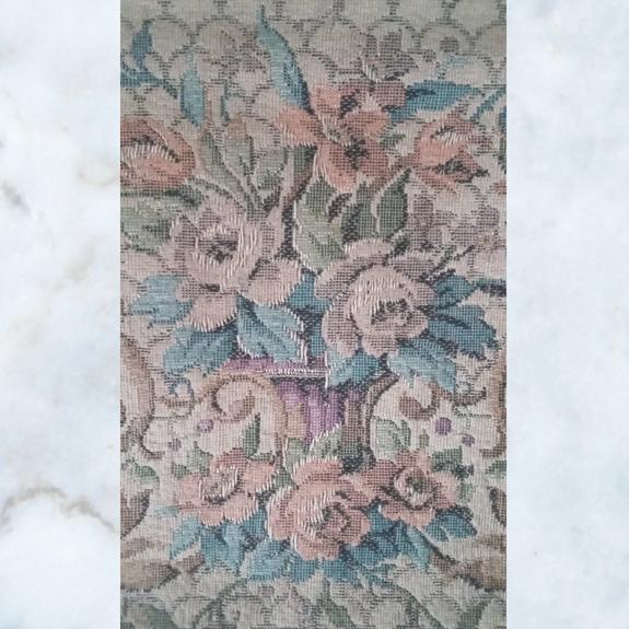 Antique tapestry bag