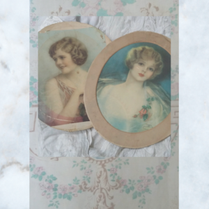 1920s Muse card