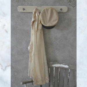 Jeanne d'Arc Living cream coat rack