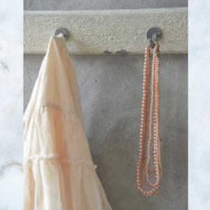 JDL cream coat rack