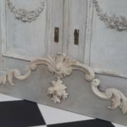 Large Antique french pediment