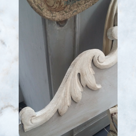 Large Antique french pediment