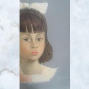 spanish girl on canvas