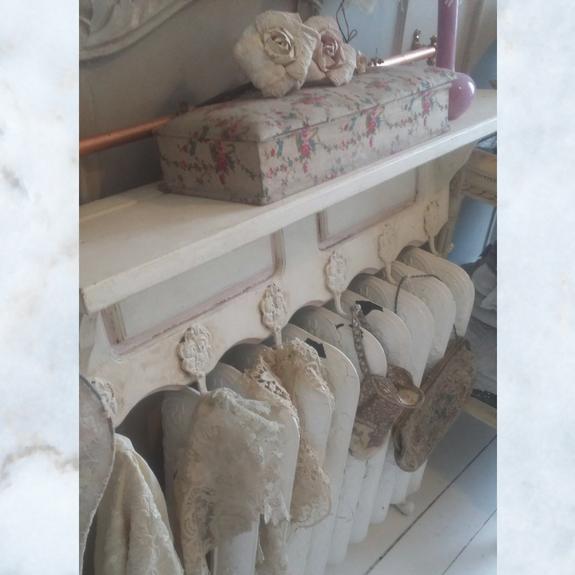 French shelf and hooks
