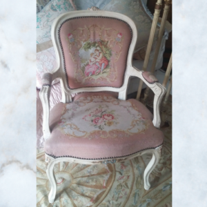 French tapestry chair
