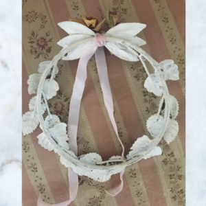 white JDL wreath