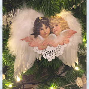 feather wing cherubs
