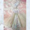 Rococo lady decoration