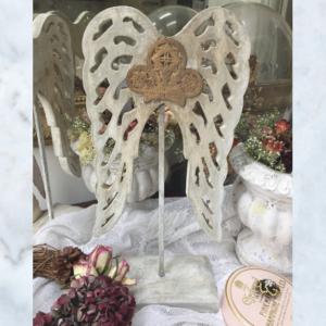 wood angel wings