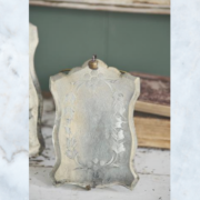Jeanne d'Arc Living old vintage mirror with stand
