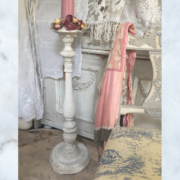 Vintage large french candle stick