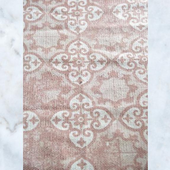 Jeanne d'Arc Living carpet rug cream dusty rose