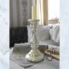 JDL mercury glass candle stick
