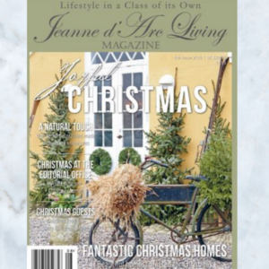 Jeanne d'Arc Living magazine issue 8 2019