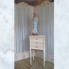 Antique French dressing screen