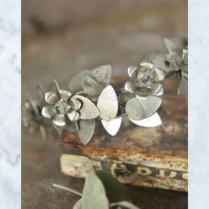 Jeanne d'Arc Living leaves & flower crown