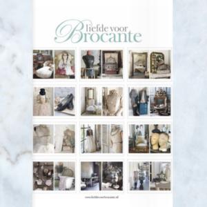 Loving Brocante calendar 2020