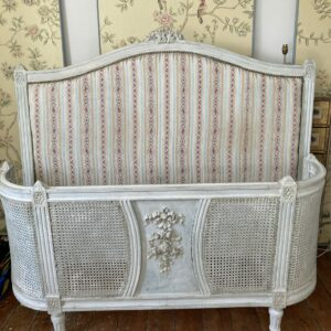 Antique French louis kingsize double bed