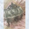 Vintage French jewellery casket